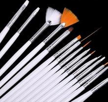 15 Pcs Nail Brushes Set