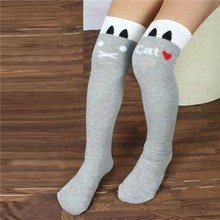 Toddlers Kids Girls Knee High font b Socks b font School Cotton Tights Striped Stockings for