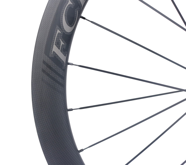 HTB1Li5lPpXXXXbbaXXXq6xXFXXXQ - 2017 FCFB road carbon wheels 700C F50 carbon wheels with R36 hubs for Road Bike, 25mm width 3Kmatt Carbon Road clincher wheelset
