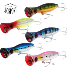 1Pcs popper fishing 3d augen with treble hooks 12cm 40g topwater hard lure soft plastic isca artificial fishing lure tackles wlure wire through the body crankabit for saltwater sea ocean fishing lure 40g 14cm slow wobble 1 0 treble hooks 3d eyes m525