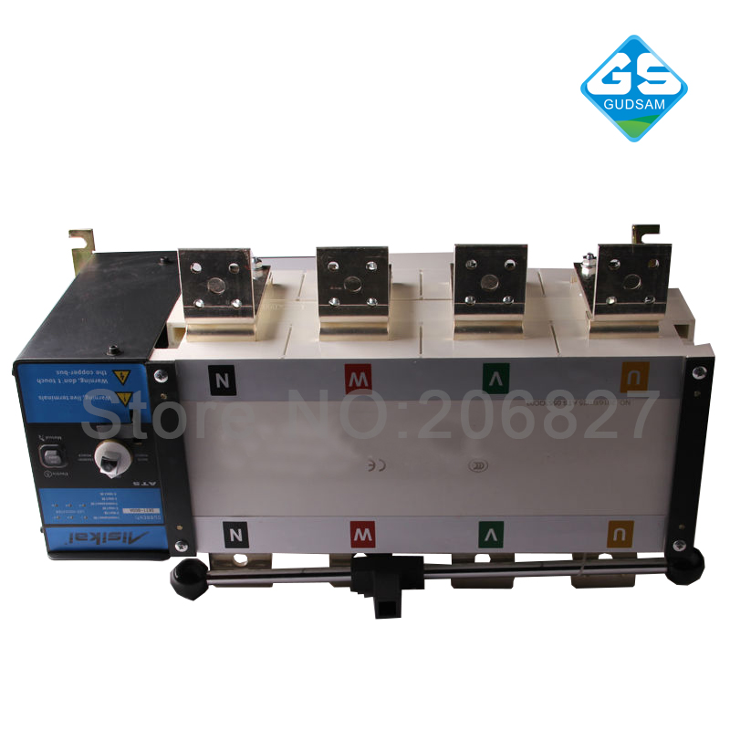 800A Three phase 4P genset automatic transfer switch (ATS  800A) three 100ml