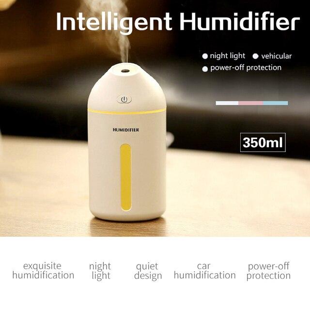 TINTON LIFE USB Interface Air Humidifier Ergonomic Spray Angle Vehicle Office Home Car Humidifier Humidifiers