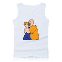 Funny Father-in-law with Cat Tank Tops Men Sleeveless Shirt and Bodybuilding Summer Vests fashion Clothing top