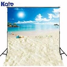 Kate casamento 8x15ft praia cenários de estúdio backgroun mar foto backgrund luz solar starfish beach party tema backdrops lk-1602