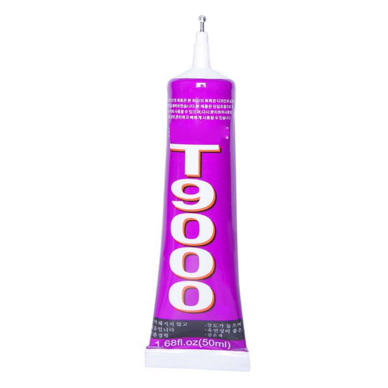 110ml T9000 Transparent Liquid Glue More Powerful New Epoxy Resin Adhesive Sealant Handset Touch Screen Repair Tool