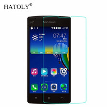 цена на 2PCS Screen Protector Glass For Lenovo A1000 Tempered Glass Lenovo A1000 Glass Lenovo A 1000 Phone Tempered Film 4.0'' HATOLY