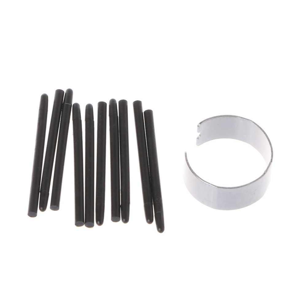 10 قطعة الرسم لوح للرسم قلم قياسي Nibs القلم ل Wacom قلم رسم رائجة البيع 2018 الأسهم الإلكترونية