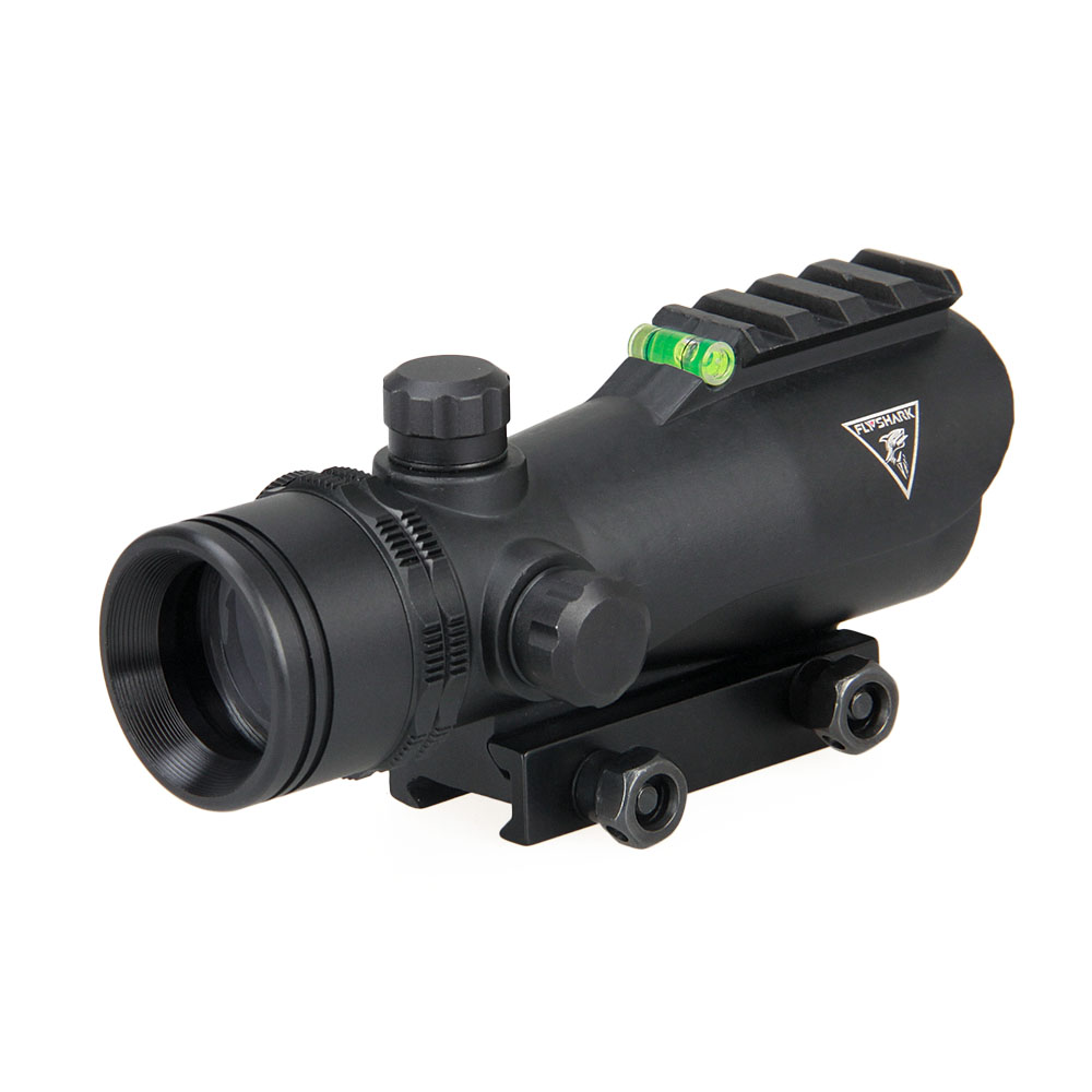 FLY SHARK Tactical 5MOA Dot Size IR Illumination Red Dot Scope For Hunting HS2-0112
