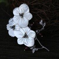 Современная мода натуральный жемчуг цветок сердце высококачественные модные броши