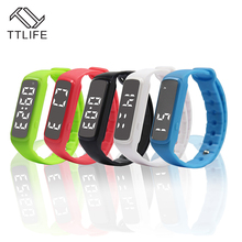 TTLIFE CD5 Smart Браслет фитнес трекер Смарт часы точной 3D Шагомер Смарт Браслет Температура Sleep Monitor Браслет