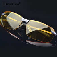 WarBLade 2018 New Yellow Lense Night Vision Driving Glasses Men Polarized Driving Sunglasses Polaroid Goggles Reduce Glare