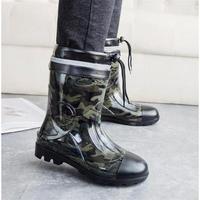 New Roman Super Warm Men Winter Boots for Men Warm Water Waterproof Rain Boots Shoes Men's Ankle Snow Boots Plus size 39~44