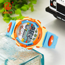 New OHSEN Cartoon Wonderful Children's Watches Fashion Digital Electronic Children Watch Creative Sports Student Watch Boy Child(China)