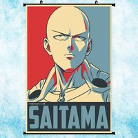 ONE PUNCH-MAN  Hot Anime Art Silk Poster Wall Scroll 11.5x18 22.5x34inch Wall Pictures Decoration-1