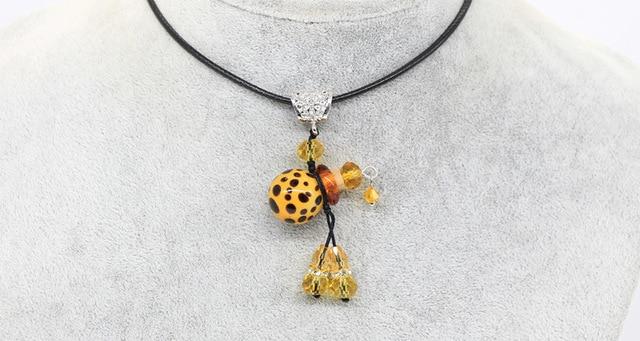 Фото ожерелье с подвеской в виде леопарда подвеска для автомобиля цена
