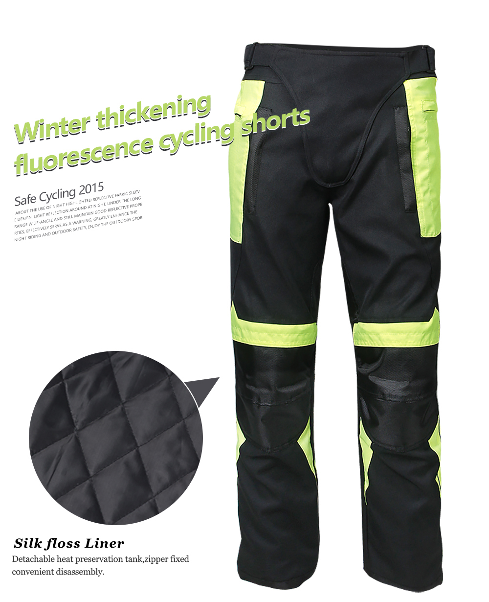 Windproof Motorcycle Racing Pants Men's Off-Road Moto Knee Protective Pants Winter And Summer Motorbike Motocross Jeans Trousers
