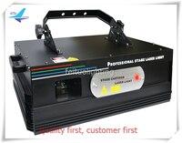 Darmowa wysyłka Disco Bar 3 W DMX RGB Full color Animacja Światła Laserowego Projektora Laserowego Automatyczne Etap Wiązka Światła Multi wzory