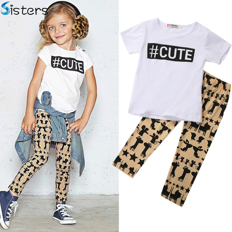 Retail Summer Children Casual Baby Girl Clothing Toddler ...