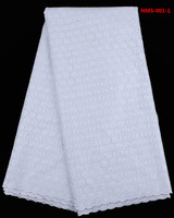 Swiss Cotton Voile Lace In White Small Polka Dots Pattern Lace Quilts For Sewing African Wedding
