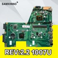 X551CA Motherboard 1007u CPU REV2.2 For ASUS X551CA R551C laptop Motherboard X551CA Mainboard X551CA Motherboard test 100% ok