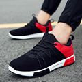 Warm winter new men's shoes leisure sport breathable mesh shoes with Korean cashmere fashion shoes low plate thickening