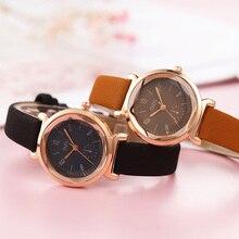 Newest Fashion Even Numbers Women WatchTrending New Design Quartz Small Round Wristwatches Reloj Mujer Zegarki Damskie Watch