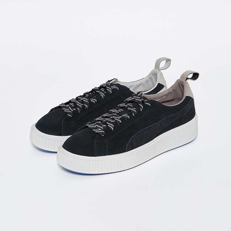 2018 Original PUMA X LIFUL Suede Yin Yang Platform Switch Sneakers Shoes Badminton Shoes Womens and Mens Sneakers size36-44