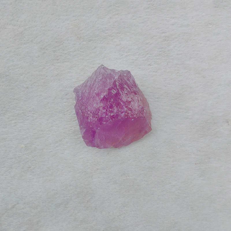 50G Alami Kasar Spesimen Amethyst Point Kuarsa Wand Kristal Batu Alam Mineral Ikan Tank Batu Amethyst Tidak Teratur DX