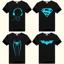 DMDM Pig/светящиеся футболки с короткими рукавами для мальчиков; топы для девочек; От 2 до 5 лет; детская футболка с человеком-пауком; детская футболка; детская одежда