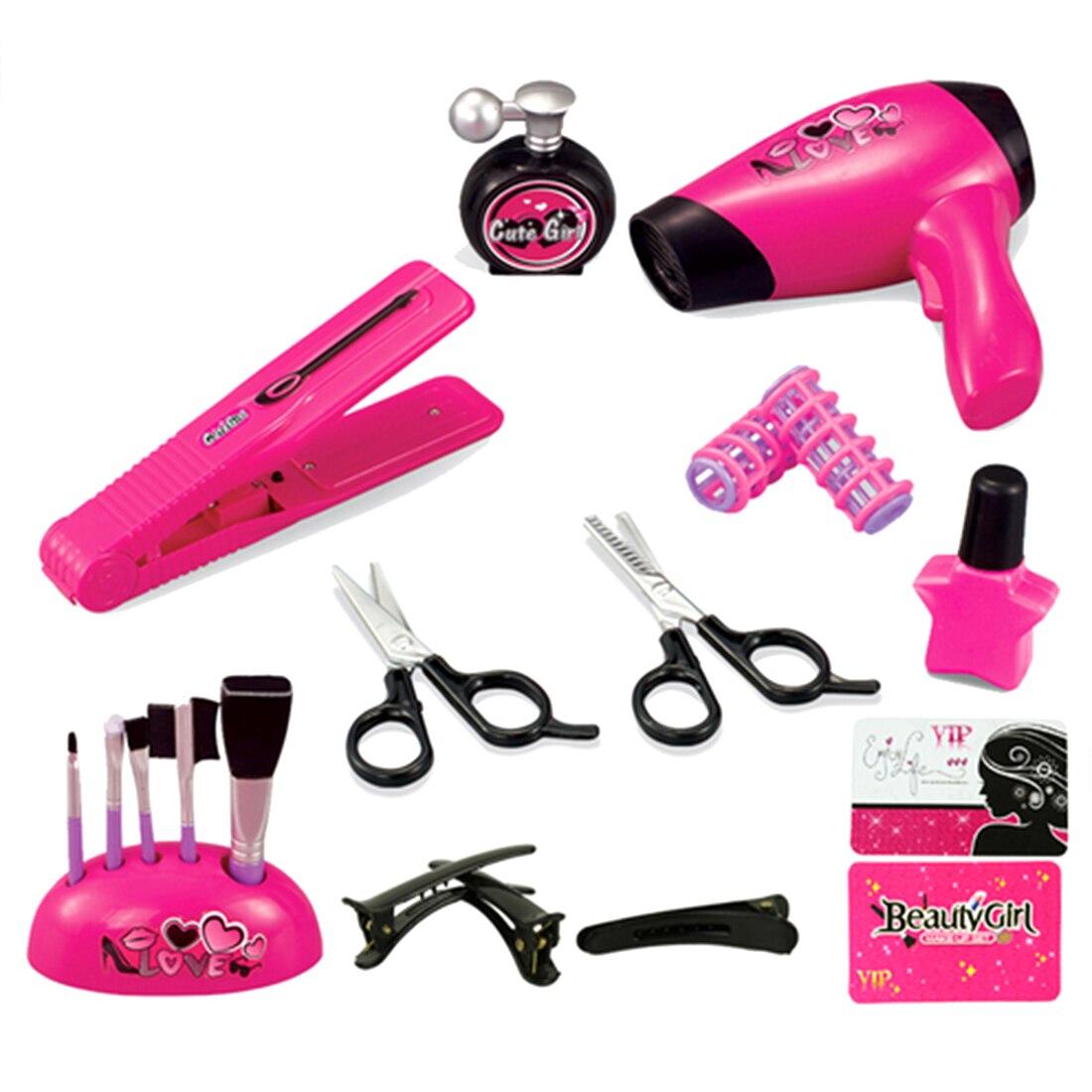 Girls Beauty Makeup Cosmetics Kit Children Pretend Play