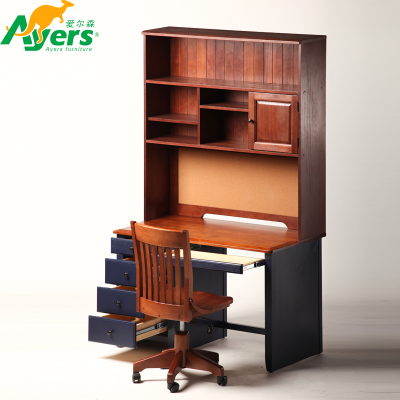 Bureau en bois chaises achetez des lots petit prix for Meuble bureau 974