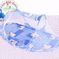 Продвижение цена симпатичные весна лето новорожденного кровать портативный детская кровать складная детская кроватка с противомоскитной сеткой YEC002