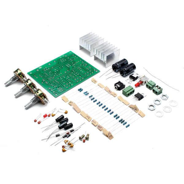 Nouveauté 12 V 30 W bricolage TDA2030A Kit de carte amplificateur de puissance double voie taille de carte de 75mm x 90mm