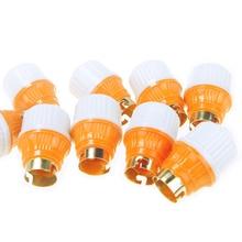 10 шт. Лампа B22 База штык подвесной держатель лампы утолщение старомодный бытовой светодиодные лампы разъем