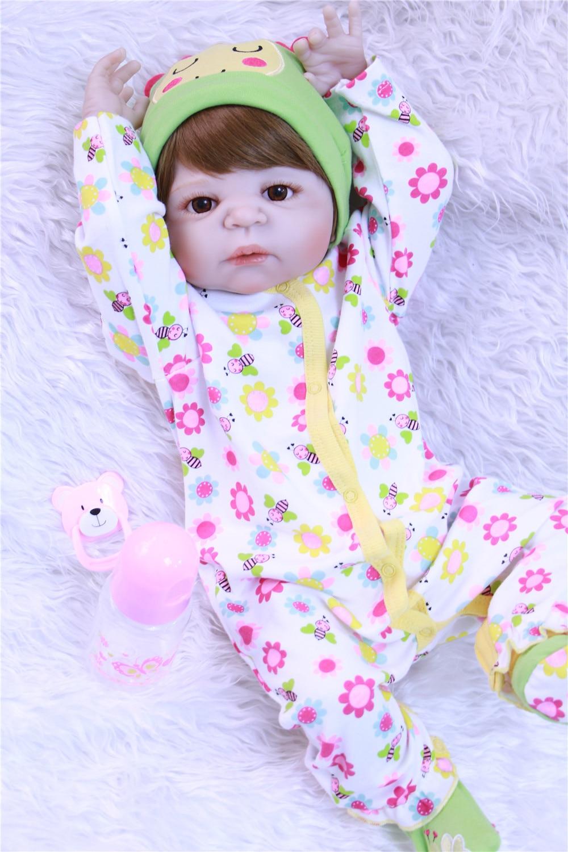NPK corps complet silicone reborn bébé poupées 22
