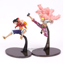 Anime One Piece Monkey D Luffy Doflamingo SCultures BIG Banpresto Colosseum VI Vol.3 normal ver. Figure Collectible Model Toy(China)