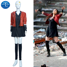MANLUYUNXIAO Women's Anime Scarlet Witch Costume For Women Halloween Cosplay Costume Wholesale Factory Price