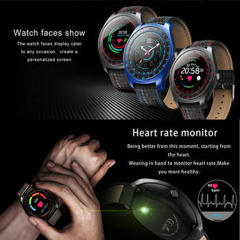 Reloj De Fitness Bluetooth | Para Xiaomi Redmi 5A 4X S2 Nota 5 4 4X3 2 C4 Bluetooth Inteligente Del Teléfono Del Reloj Podómetro Monitor De Ritmo Cardíaco Reloj Inteligente Deportivo Con Tarjeta SIM