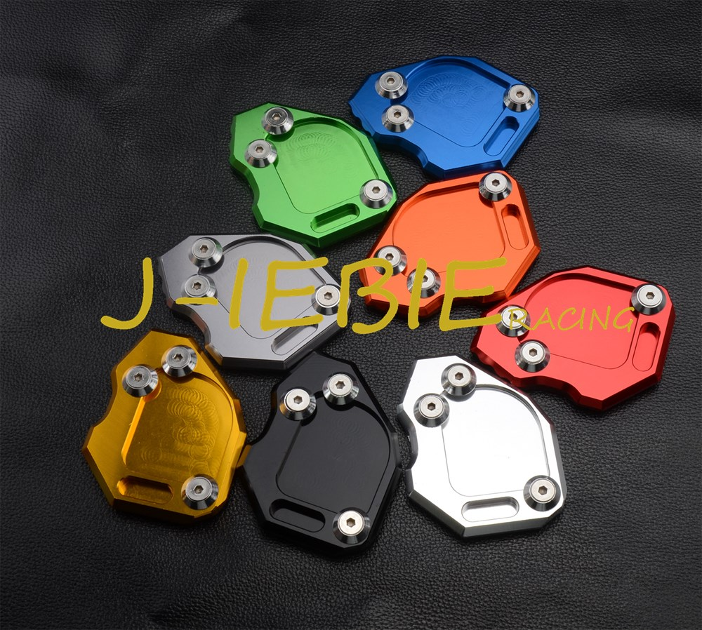 CNC Kickstand Side Stand Plate Extension Pad For BMW F800GS 2008 2015|pad pad|pad plate|pad stand - title=