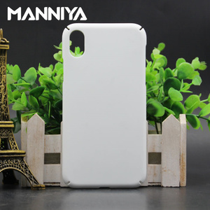 Image 1 - MANNIYA 3D Sublimation Full covered edge Blank white Phone Cases for iphone XS XR XS Max Free Shipping! 100pcs/lot