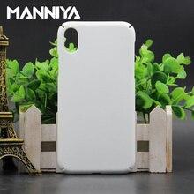 MANNIYA ثلاثية الأبعاد التسامي مغطاة بالكامل حافة بيضاء فارغة خزائن هاتف آيفون XS XR XS ماكس شحن مجاني! 100 قطعة/الوحدة