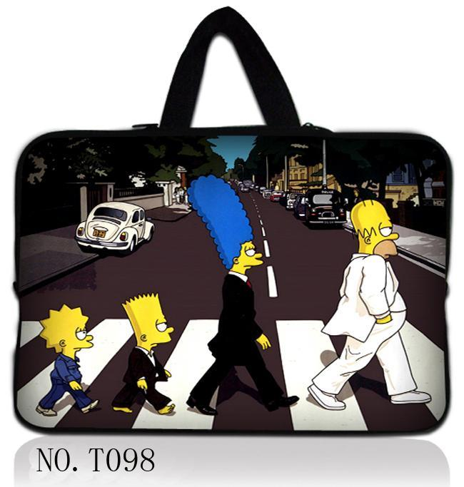 Simpson Laptop Ultrabook Sleeve Case Bag Cover For 9.7 10 11.6 12 13 13.3 14 15 15.6 17 MacBook HP Dell Acer Lenovo Thinkpad