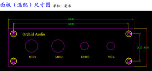 Image 4 - 12V Karaoke Sound Board PT2399 with NE5532 Preamplifier Microphone Amplifier + Panel