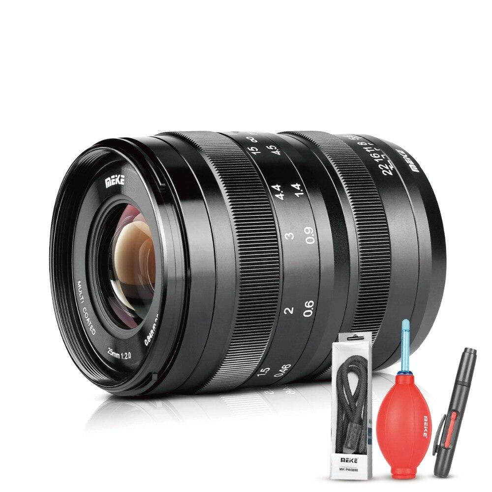 Meike 25MM F/2.0 Low Distortion Large Aperture Manual Focus Lens MFT M4/3 Camera Such as GH5 Pen-F E-M5 E-M10 блокиратор рулевого вала гарант блок люкс 040 e f page 10