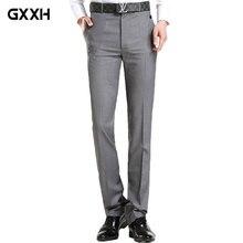 2018 verano nueva juventud Casual hombres traje pantalones británico  Delgado negocios Pantalones rectos versión coreana de d2177a3545f