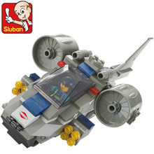 Sluban 155pcs DIY Special Forces Attack Machine Building Blocks Fight Inserted Educational Toys for Children(China)