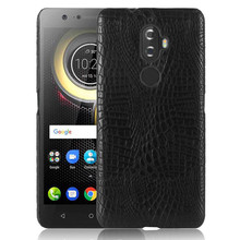 Lenovo K8 Plus K8Plus K8+ Case Crocodile Grain Hard PC with PU Leather Back Cover Case for Lenovo Vibe K8 Plus K8Plus Hard Cover стоимость