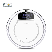 Fmart E-550W(S) 3 in 1 Robot Vacuum Cleaner Home Cleaning Appliances 128ML WaterTank Wet 300ML Dustbin Sweeper AspiratorCleaning