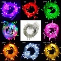 10pcs 10M 50LED Night Decor Lighting Christmas LED String Lights Multicolor Garden Party Wedding Decoration Lights 110V-240V