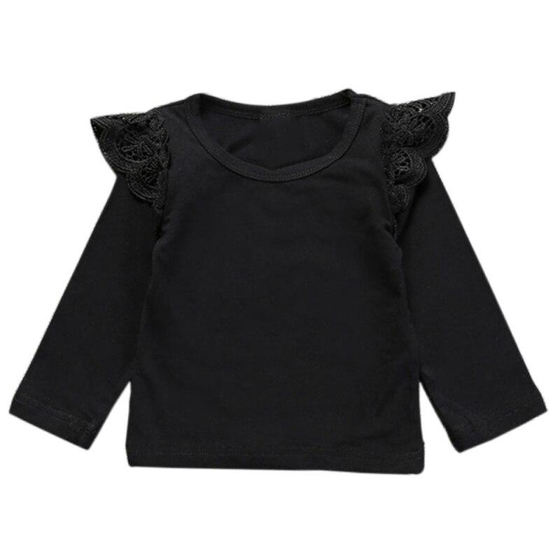 2017 Baby Mädchen T-shirt Solide 3 Stile Säuglings-kleidung Bequeme Freizeit Babys Fliegen Sleeveless T-shirts äSthetisches Aussehen